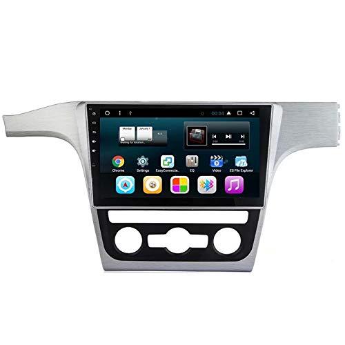 TOPNAVI 10.1 Pouces 2Din 32GB Auto Navigation pour VW Passat 2011 2012 2013 2014 2015 Android 7.1 Radio stéréo Lecteur avec Quad Core WiFi 2 Go de RAM 3G RDS Bluetooth Audio Vidéo