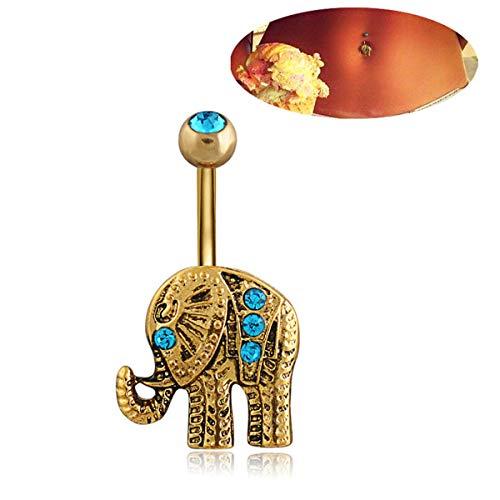 Gugutogo Q00769 Hipoalergénico Diamante Elefante
