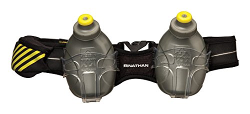 Nathan Hydration Belt Mercury 2 20 Oz/600 Ml, Black