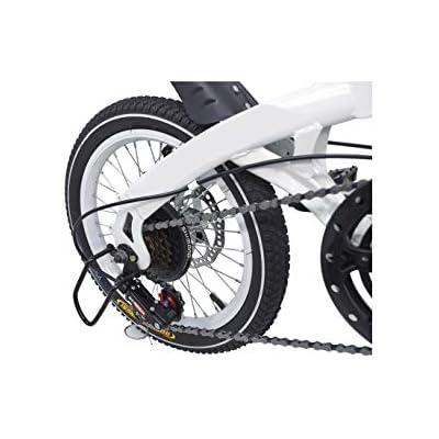 Riscko Super Bike Unisex 16 Folding Bike