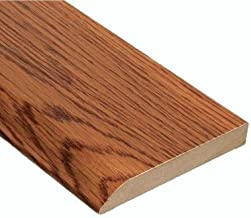 Home Legend Oak Gunstock 1/2 in. Thick x 3-1/2 in. Wide x 94 in. Length Hardwood Wall Base Moulding