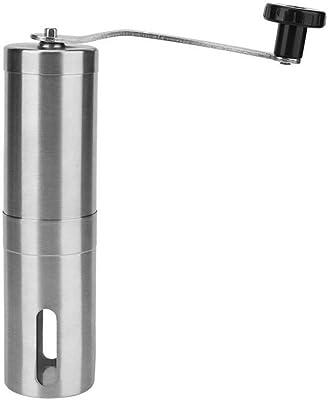 QXP-ZYP 家庭の使用のためのステンレス鋼のポータブルマニュアルのコーヒーグラインダーミルハンドコーヒーマシン