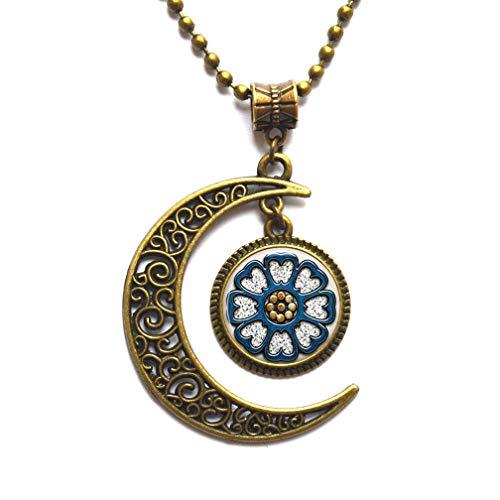 Nuevo Pai Sho collar colgante joyería de cristal cúpula colgante, regalo de la joyería del regalo de Navidad para su joyería joyería fina, PU220