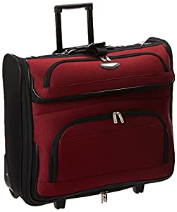 Traveler's Choice Travel Select Amsterdam Business Rolling Garment Bag