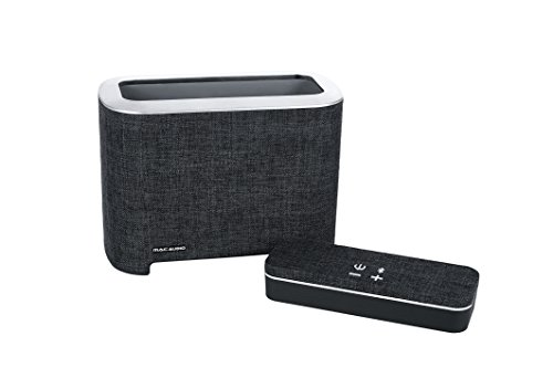 Mac Audio BT Elite 5000 | Bluetooth-Lautsprecher für iOS und Android mit Dockingstation | Two in One Soundstation | 6 Stunden Akkulaufzeit - schwarz