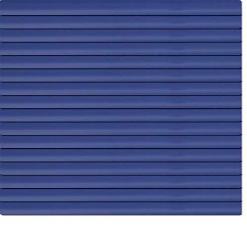 Dekologi Aluminium Jalousie 200 x 175 cm (Breite x Höhe) - Lamellenfarbe 1517 nachtblau dunkelblau//Maßanfertigung Alu Jalousien Jalousette Rollo Plissee
