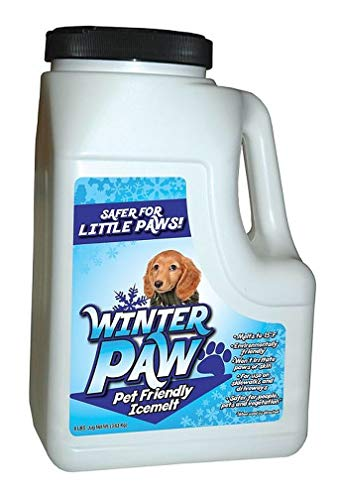EC Grow Winter Paw Pet Friendly Ice Melt (8 lbs)   Melts to -15 degrees F   Non-toxic and environmentally friendly ice melt