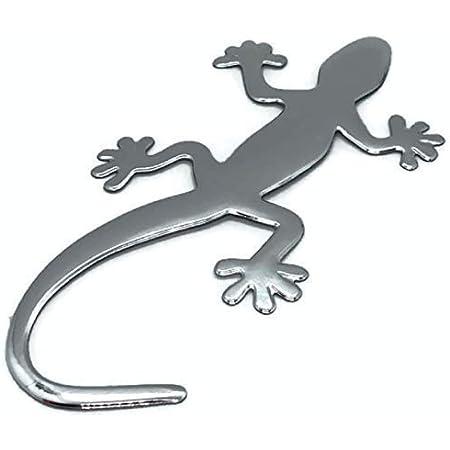 3d Auto Aufkleber Gecko Gekko Gecho Eidechse Emblem Chrom Pvc Sticker Neu Auto
