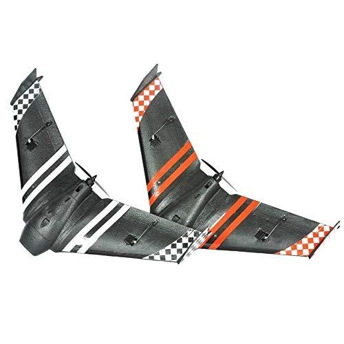 Luqifei Remote Aircraft Control PPE Corsa FPV Volo Ala Corridore RC PNP Mini AR Ala 600 Millimetri Apertura alare Grande Regalo per Adulti e Bambini (Color : Black, Size : One Size)