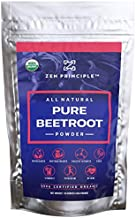 1 lb. Premium Organic Beetroot Powder. 100% USDA Certified. More Fiber and Less Sugar Than Beet Juice. All Natural Energy Boost, Supports Healthy Liver and Heart. Made in USA.