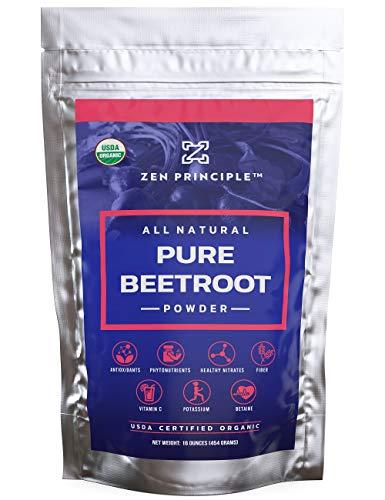 1 lb. Premium Organic Beetroot Powder. 100% USDA...