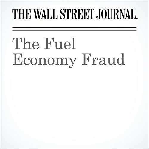 The Fuel Economy Fraud copertina