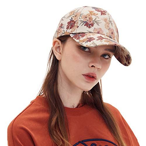 CACUSS Donna Cotone Cappello da Baseball Regolabile Cappellini da Baseball per Ambientazione Esterna, Sport, Viaggi