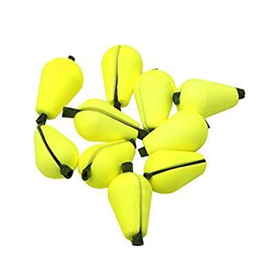 MagiDeal 6Pcs Fly Fishing Float Strike Indicators Foam Yellow from MagiDeal