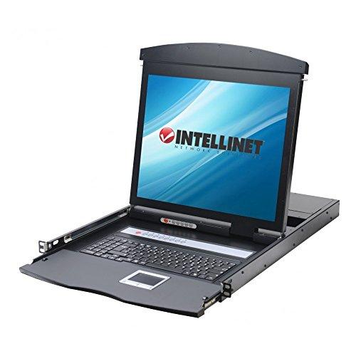 'Consola KVM Intellinet Switch 8puertos USB/PS2con LCD 19