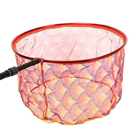Red de pesca portátil al aire libre práctica pesca dip net interfaz universal aparejos de pesca pecera