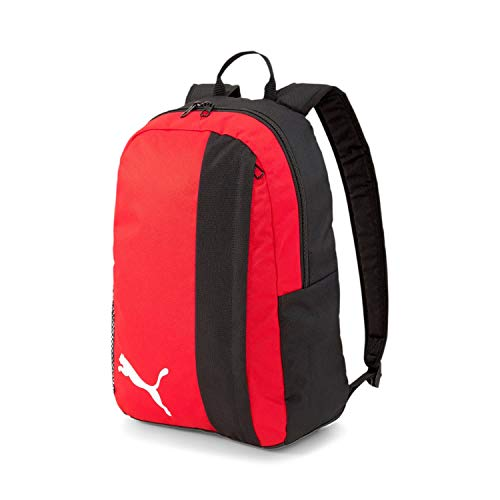 PUMA Unisex – Erwachsene teamGOAL 23 Backpack Rucksack, Red Black, OSFA
