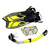 BICBLL Equipo de Snorkel, máscara de Buceo, con tecnología antivaho...