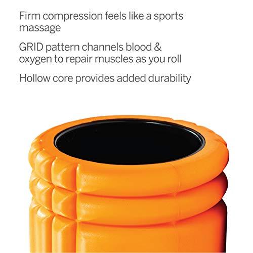 Trigger Point Ball Foamroller Grid, Orange, TF00226 - 4