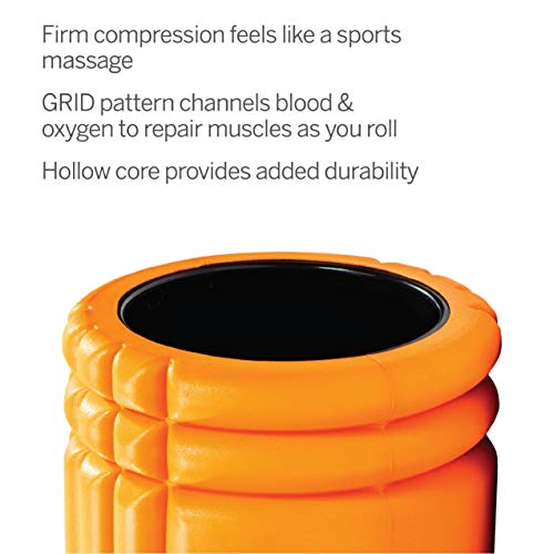 Trigger Point Ball Foamroller Grid, Orange, TF00226 - 4