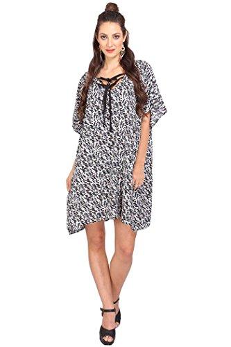 Miss Lavish Women's Kaftan Tunic Kimono Dress Summer Evening Plus Size Beach...
