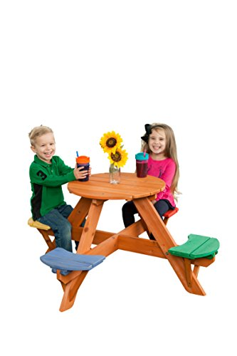 Creative Cedar Designs Children's Wooden Picnic Table
