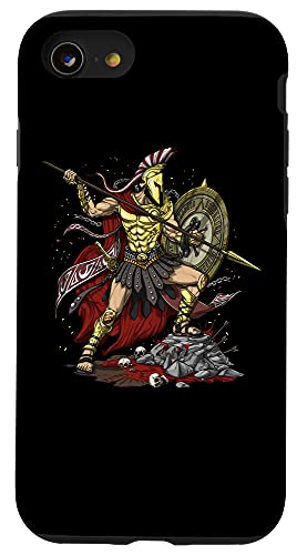 iPhone SE (2020) / 7 / 8 Greek God Ares Ancient Greek Mythology Spartan Warrior Case