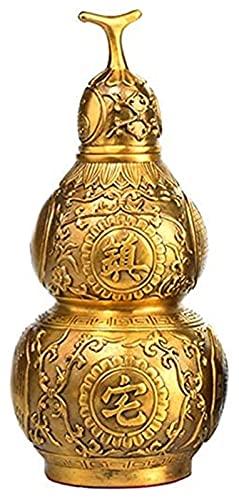 DWhui Estatua decoración del hogar Escultura Adornos Chinos Adornos Ornamento patrón Buena Suerte Coleccionable Figura Riqueza Prosperidad decoración