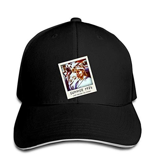 Baseball Cap Movie Network System Raubtier Snapback schwarzer Hystereseneinstellbarer Casual Hip Hop lustig im Freien Schirmmütze