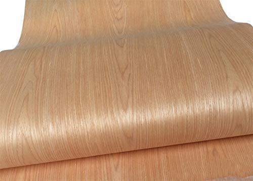 NO LOGO Technische Furnier Messerfurnierholztechnik E. V.60cm x 2.5m Red Oak C/C (Farbe : Like The PIC, Größe : About 60x250cm 2pcs)