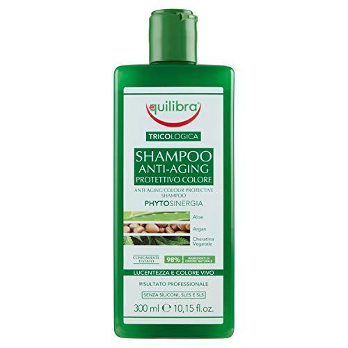 Equilibra Tricologica Shampoo Anti-Aging Protettivo Colore, 300 ml