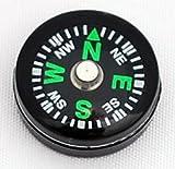 Hammers Wholesale Lot 25pcs 14mm Liquid Filled Compasses Small Mini Dial Survival Compass Button