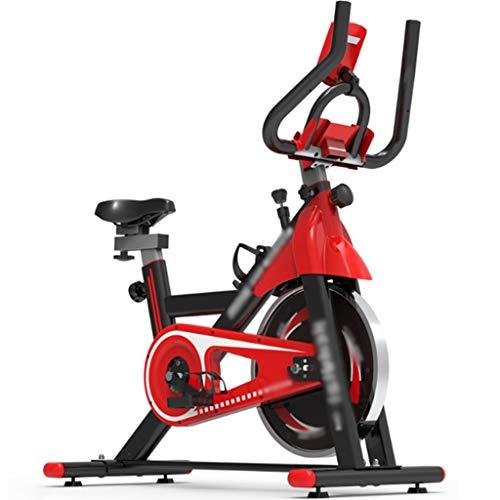 YHRJ Bicicletas de Spinning Ajustables para Interiores,Bicicleta de Oficina con poleas,Ejercicio de Equipos de Fitness para Bajar de Peso,Puede soportar 150 kg