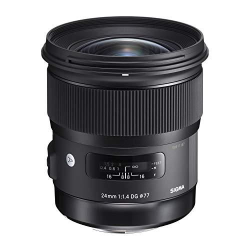 Sigma 401965 Obiettivo 24 mm-F/1.4 A AF DG HSM, Attacco Sony E-Mount, Nero