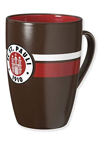 FC St. Pauli Tasse/Kaffeebecher ** Logo Rot-Weiß **