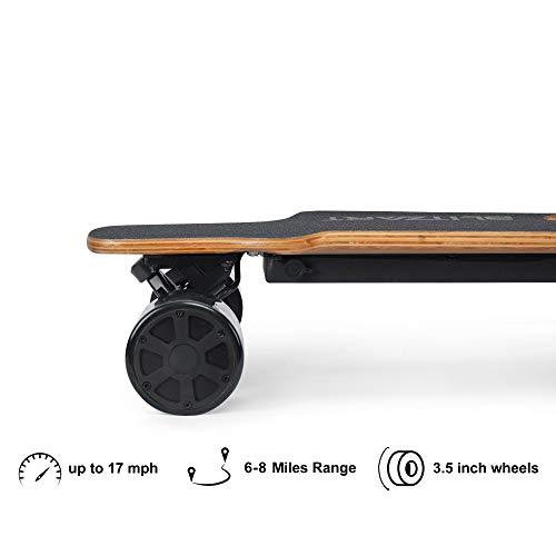 "Blitzart 38"" Hurricane Electric Longboard Electronic Skateboard 18mph 350W Brushless Motor"