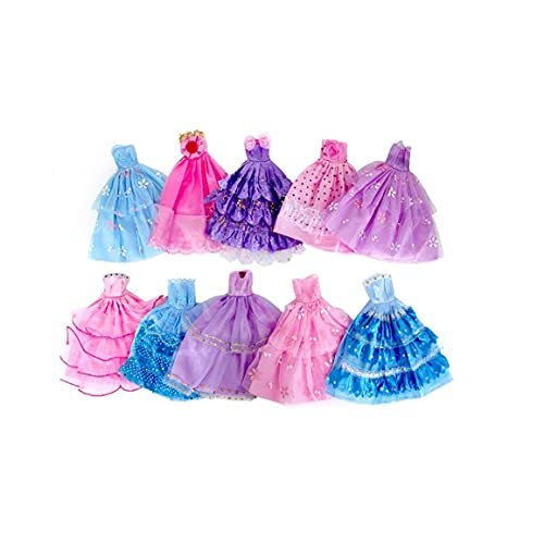 10 Piezas Hechas a Mano Fiesta De La Boda De La Novedad del Vestido Vestidos (Color Azar/Estilo)