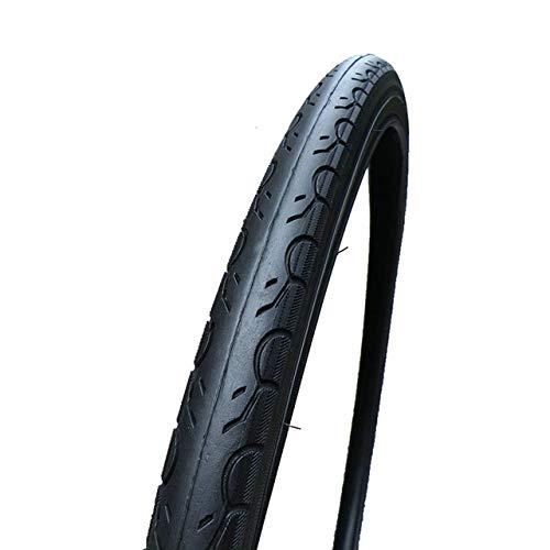 Llsdls Tire 29er * 1.5 VTT extérieur des pneus 29 Pouces Ultra-Fine Demi-Chauve Pneu Route des pneus 700x38c à Usage général (Color : 700x38c 29x1.5)