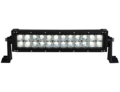 Buyers Products 14 Inch 6480 Lumen LED Clear Curved Combination Spot-Flood Light Bar