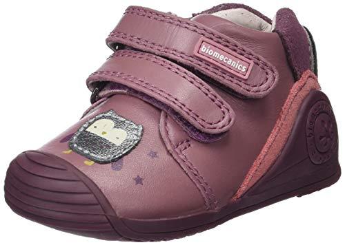 Biomecanics Baby Mädchen 181141 Hausschuhe, Pink (181141/C/Amz Panama (Sauvage), 22 EU
