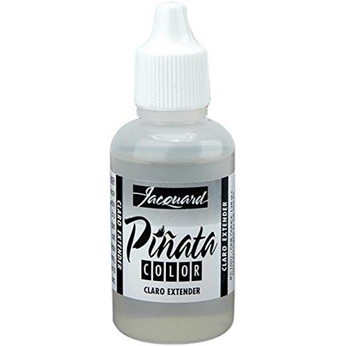 Jacquard Products Jacquard Pinata Color Alcohol Inks, 1-Ounce, Claro Extender by Jacquard