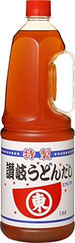 ヒガシマル醤油 讃岐うどんだし1.8L