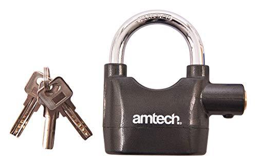 Amtech T2310 Heavy Duty Alarm Padlock