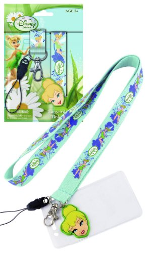 Disney Tinker Bell Lanyard with Soft Touch Dangle