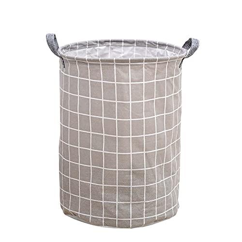 SKYGC Cestas de lavandería a Prueba de Agua, cestas de lavandería Grande Plegable para la Sala de niños Organizador de Juguete Decoración de la casa Nursery,D