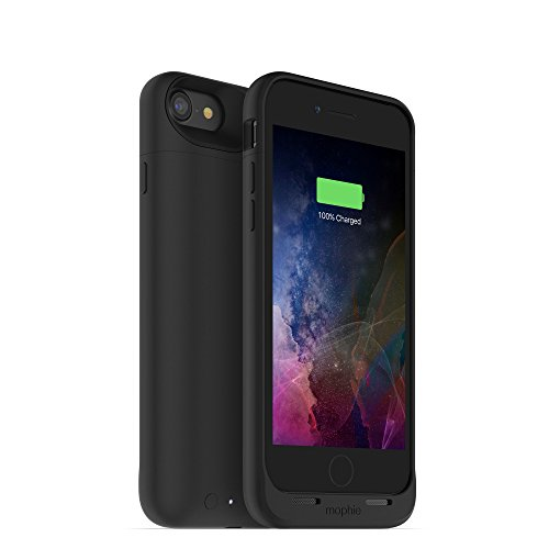mophie juice pack wireless  - Charge Force Wireless Power - Wireless Charging Protective Battery Pack Case for iPhone 8 and iPhone 7 - Black