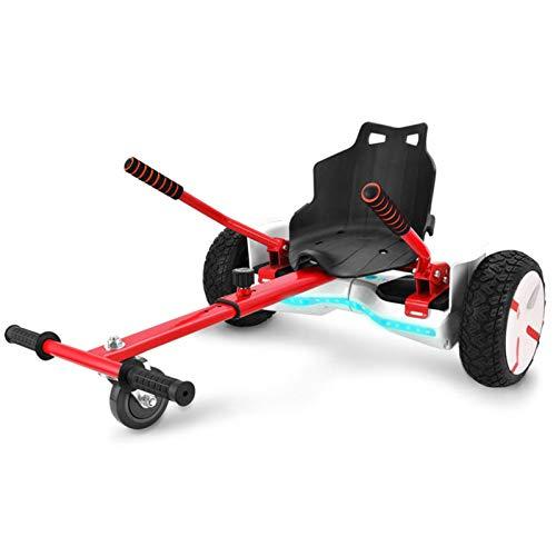 YAHAO Silla para Hoverboard Universal Hoverboard Asiento Kart Ajustable para Patinete Eléctrico...