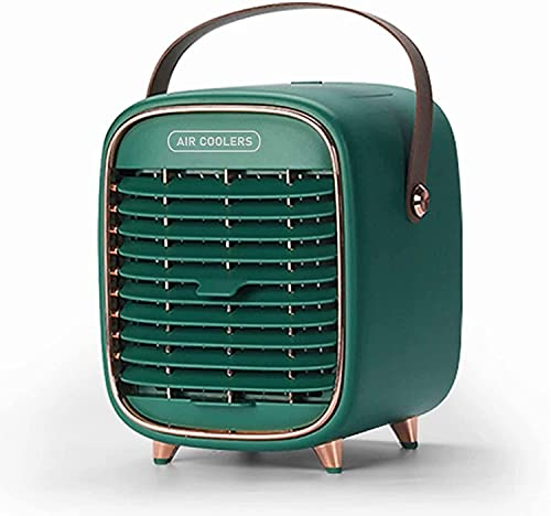 Portable Air Conditioner, Air Cooler Rechargeable with 3 Speeds,...