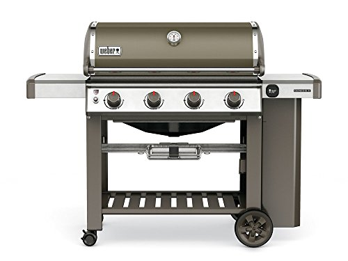 Barbecue Weber à gaz Genesis II E-410 GBS Smoke Grey