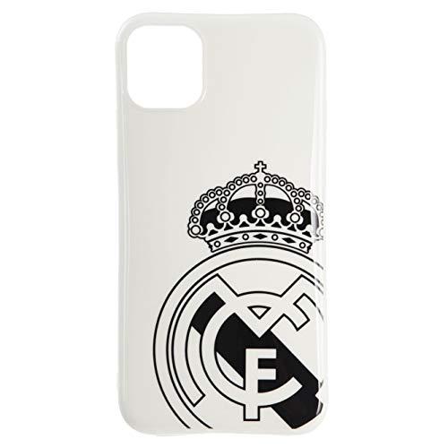 Funda Oficial del Real Madrid Escudo Gris para iPhone 11 Pro MAX Protege tu móvil con el Escudo y los Colores de tu Equipo Favorito.